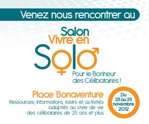 Salon vivre en Solo - Célibatires Montréal