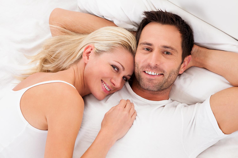 Couple heureux et durable